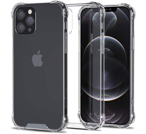 Ceezs Ceezs iPhone 12 Pro Max hoesje shockproof / schokbestendig transparant