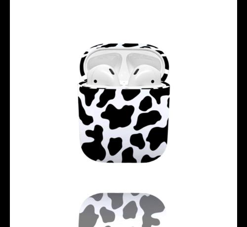 ShieldCase® Shieldcase Holy Cow Apple Airpods case (zwart/wit)