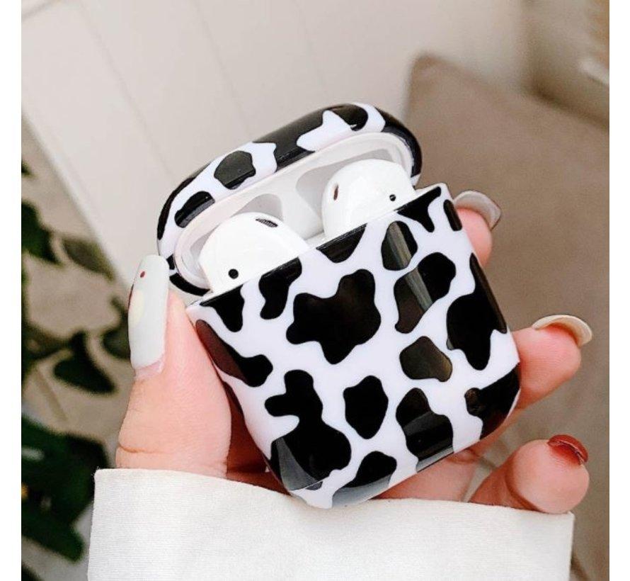 Shieldcase Holy Cow Apple Airpods case (zwart/wit)