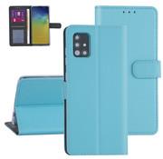 ShieldCase® Booktype case Samsung Galaxy A71 (Lichtblauw)