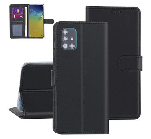 ShieldCase® ShieldCase Booktype case Samsung Galaxy A51 (zwart)