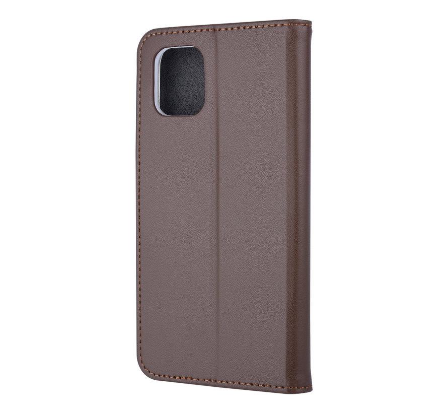 ShieldCase Booktype case iPhone 11 (bruin)
