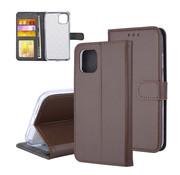 ShieldCase® Booktype case iPhone 11 (bruin)