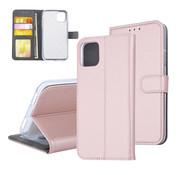 ShieldCase® Booktype case iPhone 11 (rosé goud)