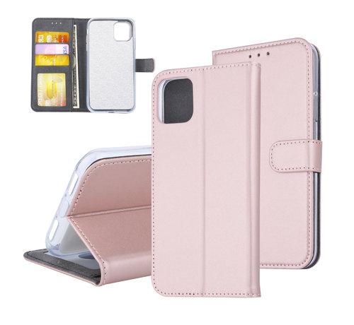 ShieldCase® ShieldCase Booktype case iPhone 11 (rosé goud)