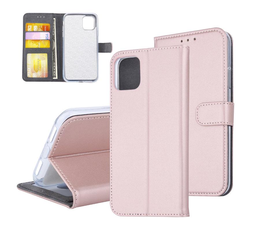 ShieldCase Booktype case iPhone 11 (rosé goud)
