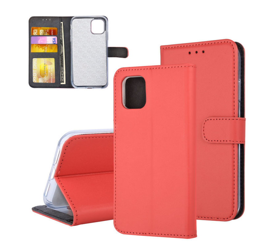 ShieldCase Booktype case iPhone 11 Pro (rood)