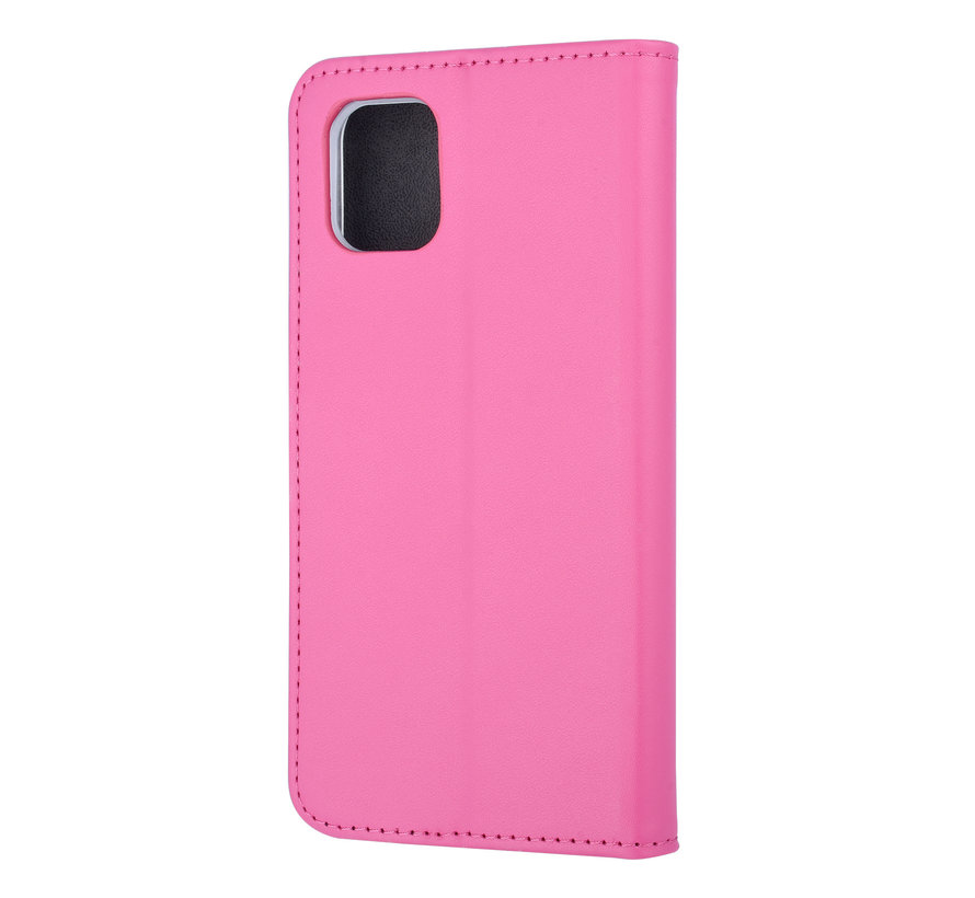 ShieldCase Booktype case iPhone 11 (hot pink)