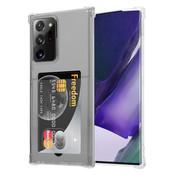 ShieldCase® Samsung Galaxy Note 20 Ultra Shock case met pashouder