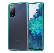 ShieldCase® Samsung Galaxy S20 FE metallic Bumper case (groen)