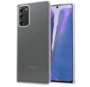 ShieldCase® Samsung Galaxy Note 20 thin silicone case (transparant)