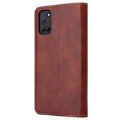 ShieldCase® Wallet case Oppo A92 / A72 / A52 (bruin)