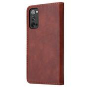 ShieldCase® Samsung Galaxy S20 FE wallet case (bruin)