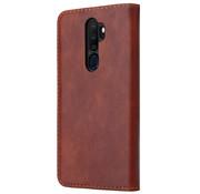 ShieldCase® Wallet case Oppo A5 2020 / A9 2020 (bruin)