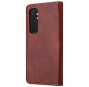 ShieldCase® Xiaomi Mi Note 10 Lite wallet case (bruin)