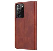 ShieldCase® Samsung Galaxy Note 20 Ultra wallet case (bruin)