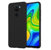 ShieldCase® Xiaomi Redmi Note 9 silicone case (zwart)