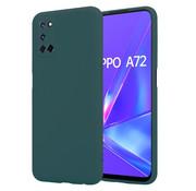 ShieldCase® Oppo A92 / A72 / A52 silicone case (donkergroen)