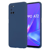 ShieldCase® Oppo A92 / A72 / A52 silicone case (blauw)