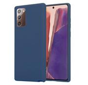 ShieldCase® Samsung Galaxy Note 20 silicone case (blauw)