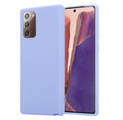 ShieldCase® Samsung Galaxy Note 20 silicone case (paars)