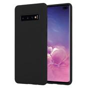 ShieldCase® Silicone case Samsung Galaxy S10 Plus (zwart)