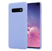 ShieldCase® Silicone case Samsung Galaxy S10 Plus (paars)