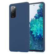 ShieldCase® Samsung Galaxy S20 FE silicone case (blauw)