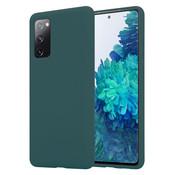 ShieldCase® Samsung Galaxy S20 FE silicone case (donkergroen)