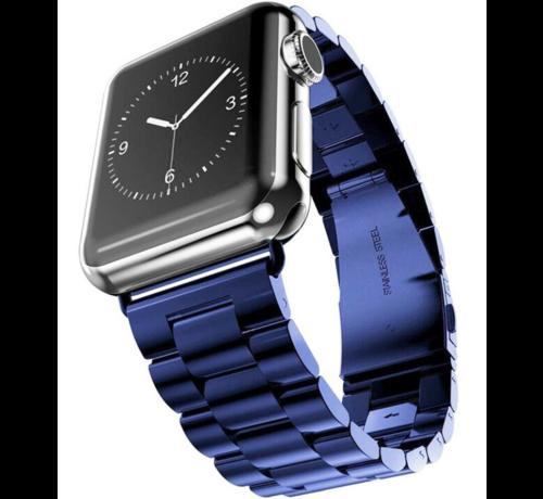 Apple Watch stalen band (blauw)