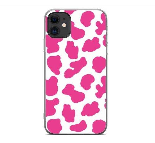 ShieldCase® ShieldCase Holy Cow iPhone 11 hoesje (roze/wit)