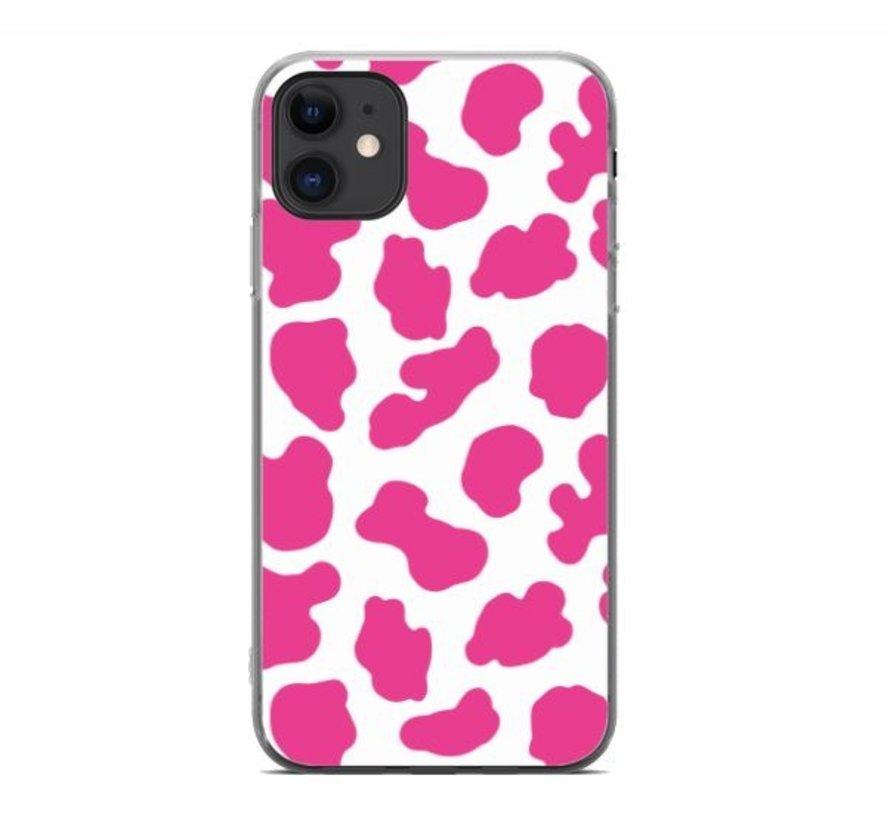 ShieldCase Holy Cow iPhone 11 hoesje (roze/wit)