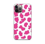 ShieldCase® Holy Cow iPhone 12 Pro - 6.1 inch hoesje (roze/wit)