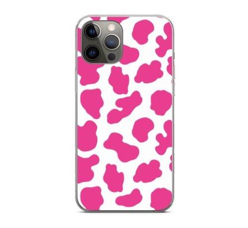 ShieldCase® ShieldCase Holy Cow iPhone 12 Pro - 6.1 inch hoesje (roze/wit)