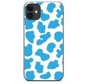 ShieldCase® Holy Cow iPhone 11 hoesje (blauw/wit)