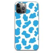 ShieldCase® Holy Cow iPhone 12 Pro - 6.1 inch hoesje (blauw/wit)