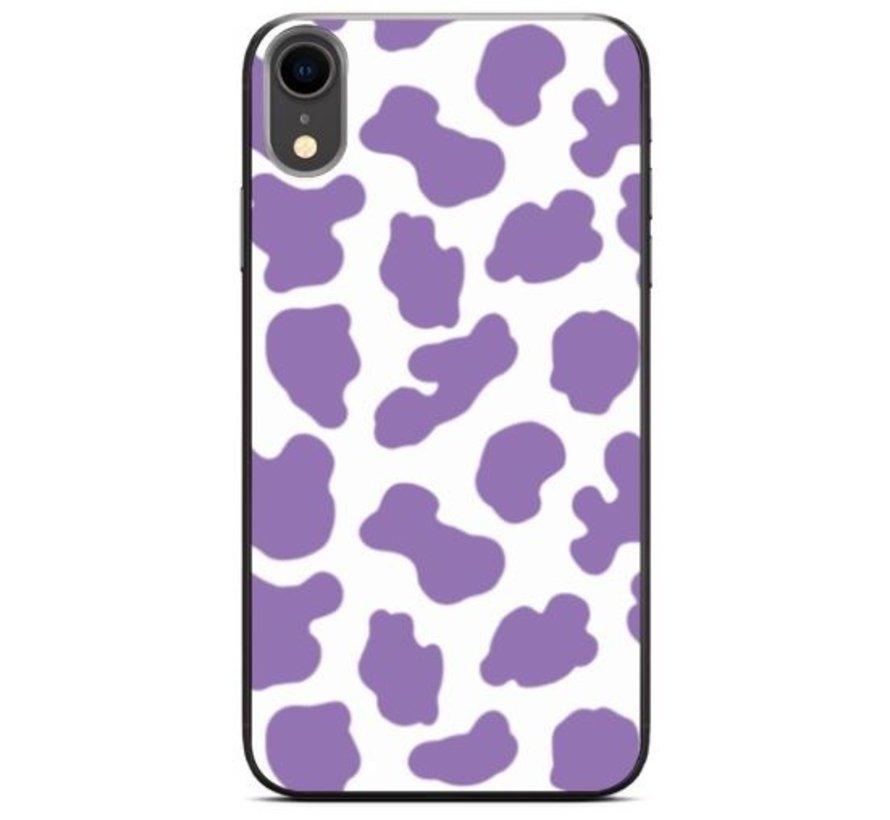 ShieldCase Holy Cow iPhone Xr hoesje (paars/wit)