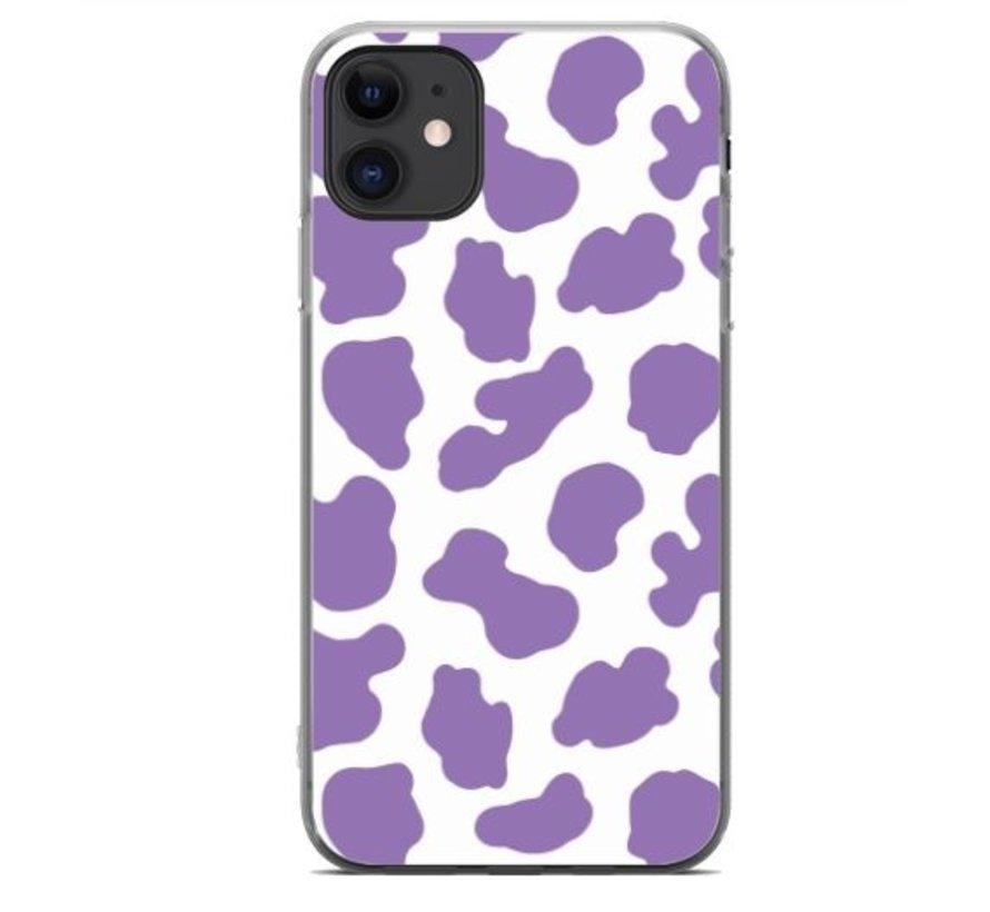 ShieldCase Holy Cow iPhone 11 hoesje (paars/wit)