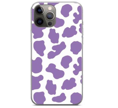 ShieldCase® ShieldCase Holy Cow iPhone 12 Pro - 6.1 inch hoesje (paars/wit)