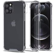 Ceezs iPhone 12 Pro Max hoesje shockproof / schokbestendig transparant + Screenprotector