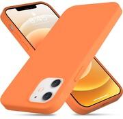 ShieldCase® Silicone case iPhone 12 Mini - 5.4 inch (oranje)