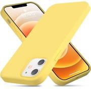 ShieldCase® Silicone case iPhone 12 Mini - 5.4 inch (geel)