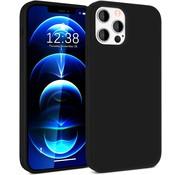ShieldCase® iPhone 12 Pro silicone case  - 6.1 inch (zwart)