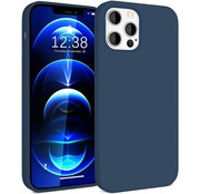 ShieldCase® Silicone case iPhone 12 Pro - 6.1 inch (blauw)