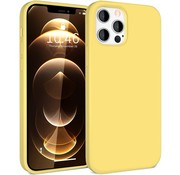ShieldCase® Silicone case iPhone 12 Pro Max - 6.7 inch (geel)