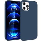 ShieldCase® Silicone case iPhone 12 Pro Max - 6.7 inch (blauw)