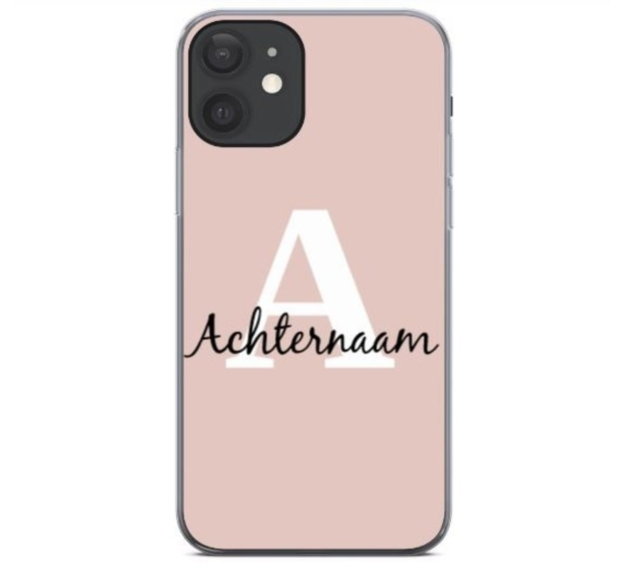 Initial Name Case - iPhone 12