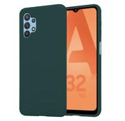 ShieldCase® Samsung Galaxy A32 5G siliconen hoesje (donkergroen)