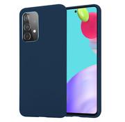 ShieldCase® Samsung Galaxy A52 siliconen hoesje (blauw)
