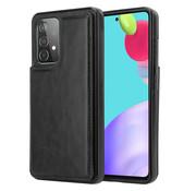 ShieldCase® Samsung Galaxy A52 wallet case (zwart)